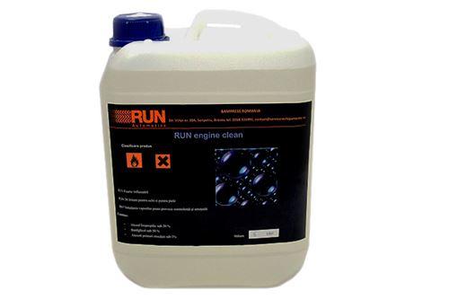 Imaginea RUN engine clean
